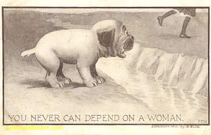 Anti-Suffrage, Can&#39;t Depend On A Woman, 1910
