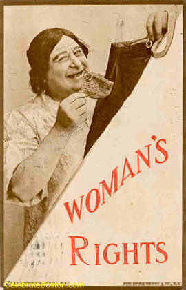 Anti-Suffrage, Woman&#39;s Rights, 1910