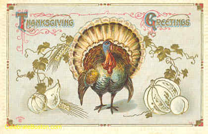 Thanksgiving Turkey, c.1912