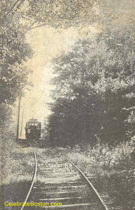 Trolley At Derry NH