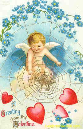 Cupid's Web, c.1912