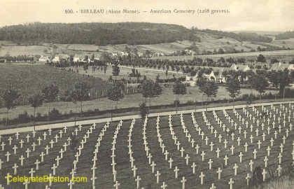 Belleau, American Cemetery, 1918