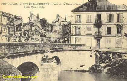 Chateau-Thierry, Fosse Marne Bridge, 1918