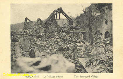 Vaux, The Destroyed Village, 1918