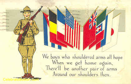 WWI Unity, Hold Us When We Get Home