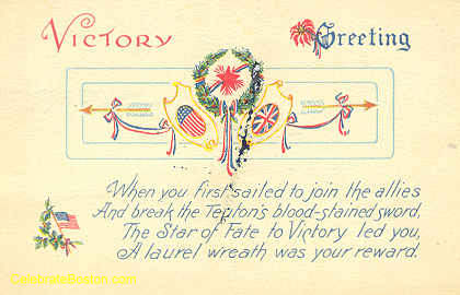 WWI Unity, Victory Greetings