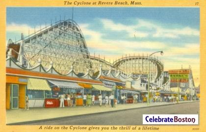 Revere Beach Cyclone, 1940s