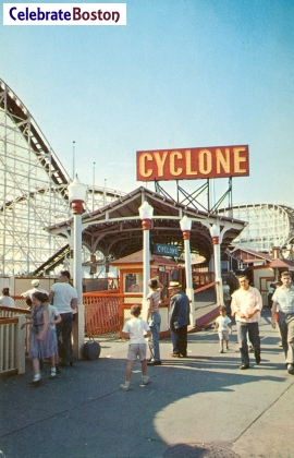 Cyclone Coaster Entrance