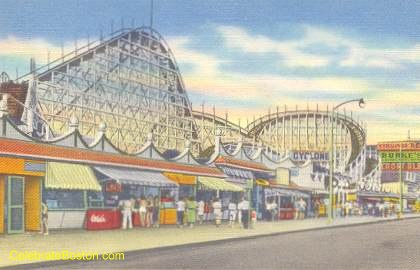 Cyclone Roller Coaster, Revere Beach