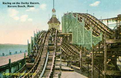 Derby Racers Double Roller Coaster