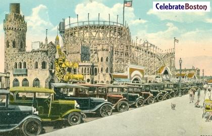 Bluebeard's Palace & Thunderbolt Roller Coaster
