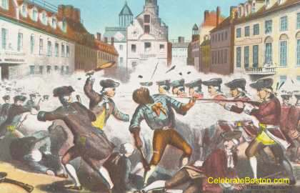 Boston Massacre, March 5, 1770