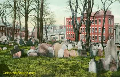 Copp&#39;s Hill Burying Ground At Charter Street