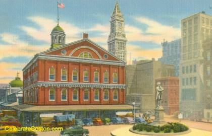 Faneuil Hall In The 1940s