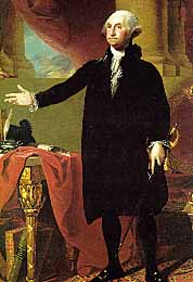 Gilbert Stuart Portrait of Washington at the White House