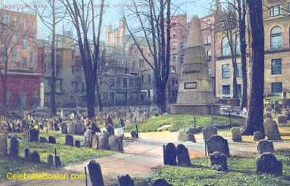 Granary Burying Ground Franklin Obelisk