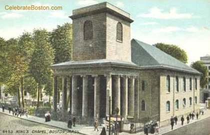 King's Chapel Boston c.1910
