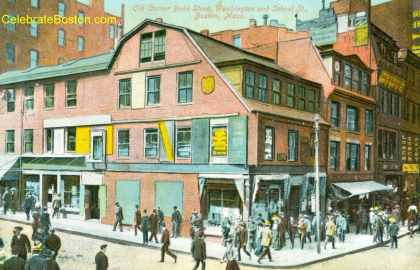 Old Corner Bookstore, c.1910