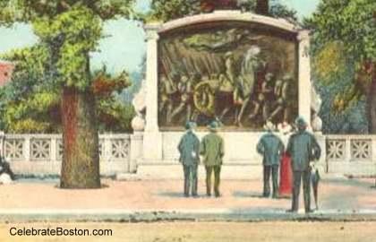 Shaw Memorial c.1910