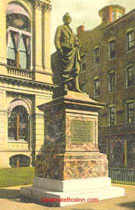 Josiah Quincy Statue, Old City Hall