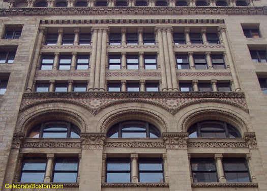 Ames Building Facade