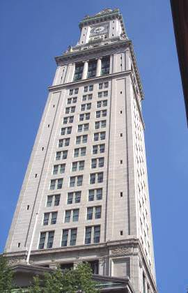 Boston&#39;s First Real Skyscraper