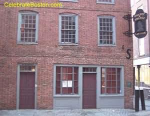 Ebenezer Hancock House Boston