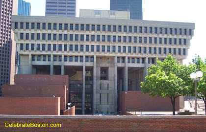 North Side of Boston City Hall