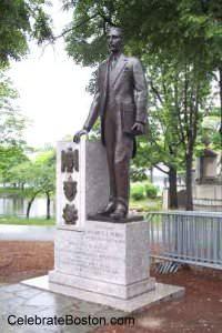 Maurice Tobin Statue