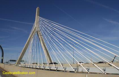 Zakim Bridge Close Up