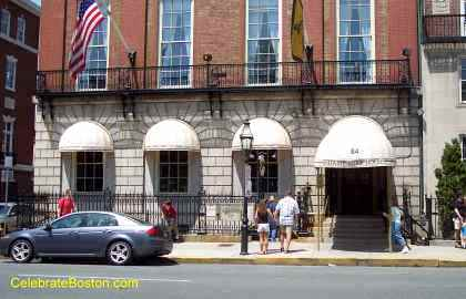 Facade of Cheers Boston And Hampton House