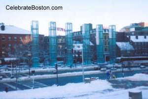 New England Holocaust Memorial in Boston