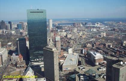 Prudential Skywalk Looking East