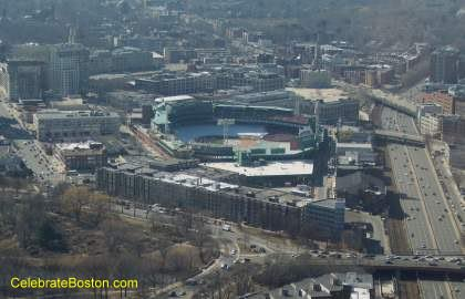 Fenway Park From The Skywalk