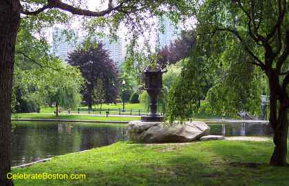 Boston Public Garden Photos