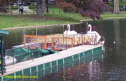 Swan Boat Moored