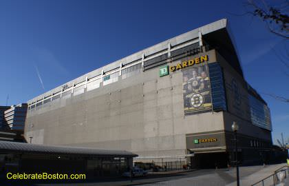 TD Garden or New Boston Garden Home of the Celtics and Bruins