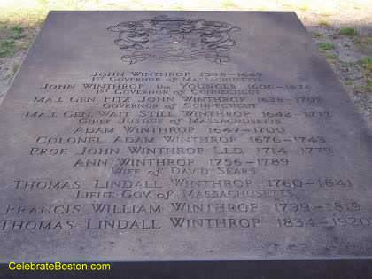 Winthrop Family Tomb