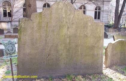John Cotton Gravestone