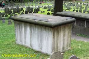 Samuel Sewall Tomb, Granary Burying Ground