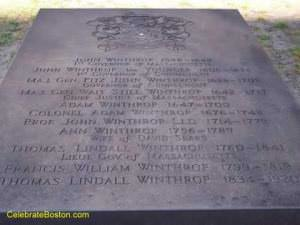 Winthrop Tomb