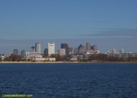 Castle Island Cityscape