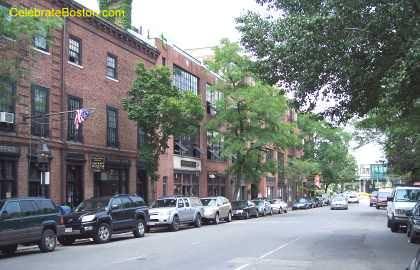 Charles Street Looking North