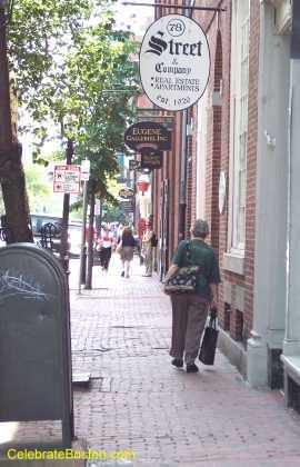 Charles Street Looking South