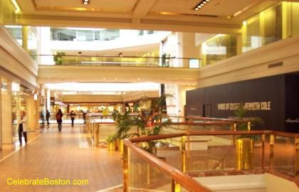 Copley Place Mall 2nd Floor