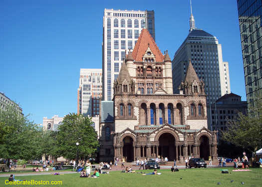 Copley Square During Lunch Hour