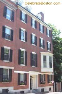 George Parkman House, Walnut Street
