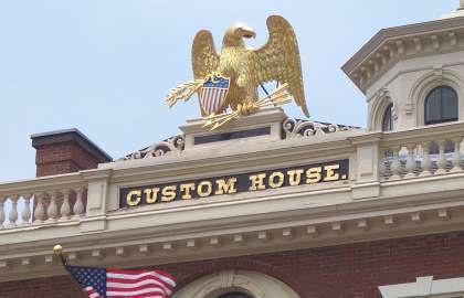 Custom House Eagle