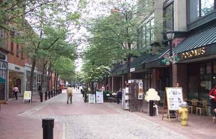 Essex Street Pedestrian Mall Salem