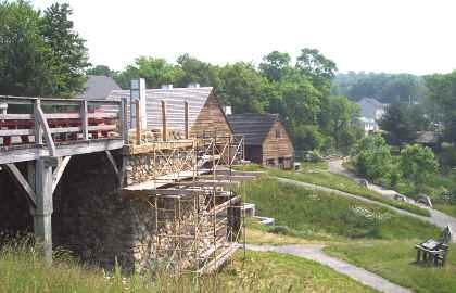 Saugus Iron Works Panorama